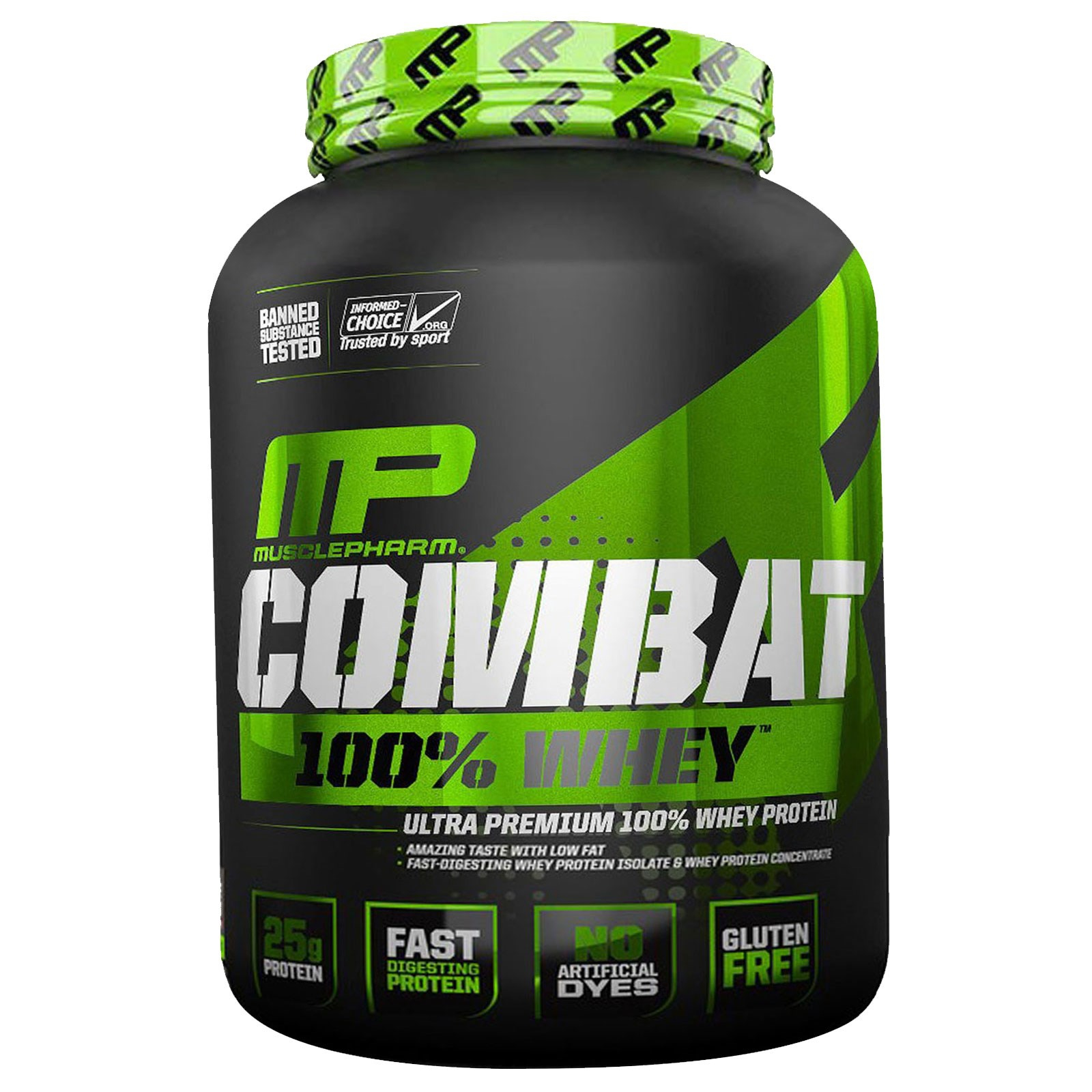 100% Combat Whey-Strawberry