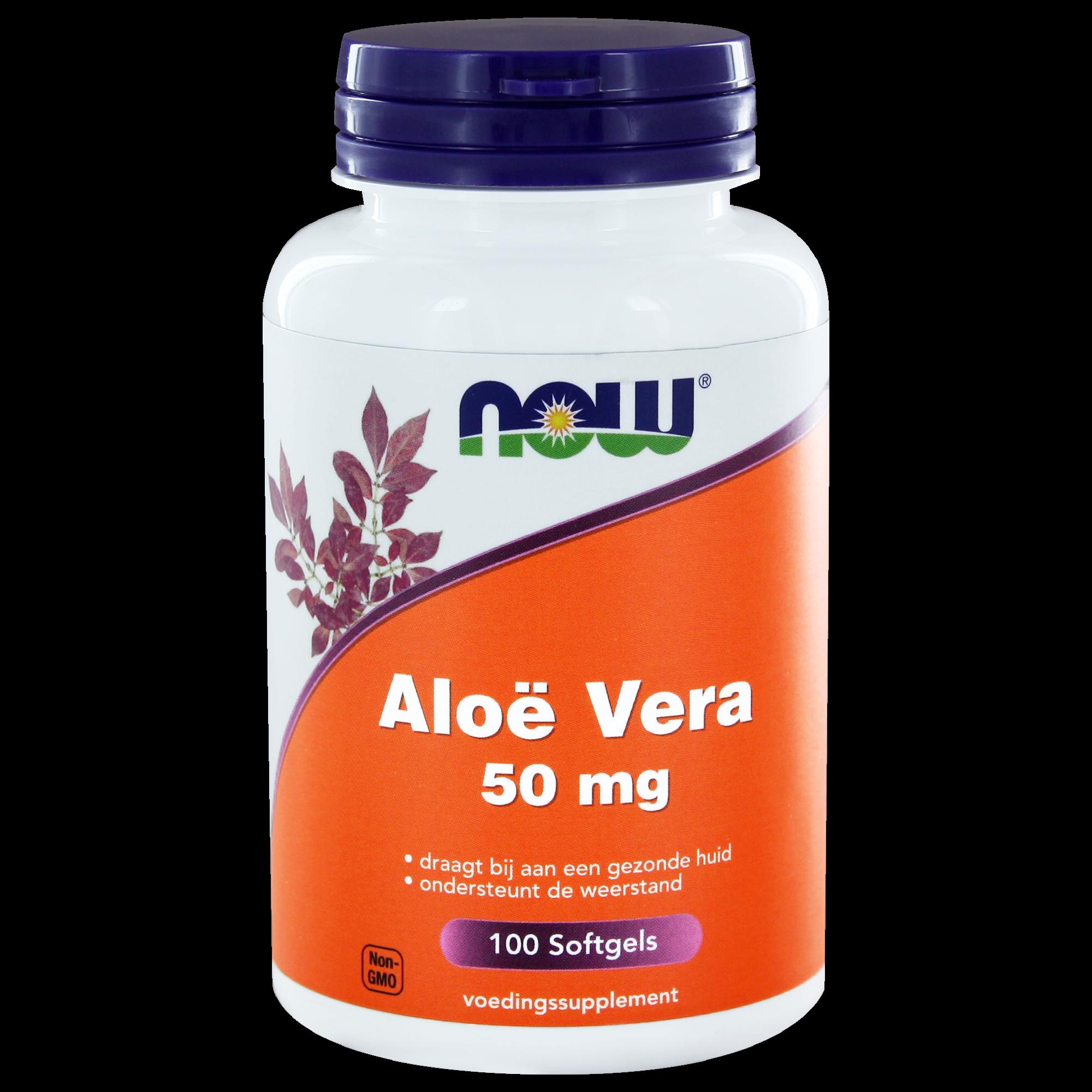 Aloe Vera Softgels