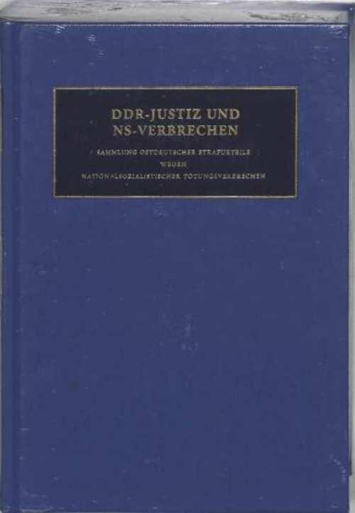 DDR-Justiz und NS-Verbrechen