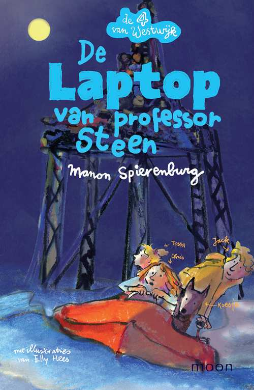 De laptop van professor Steen