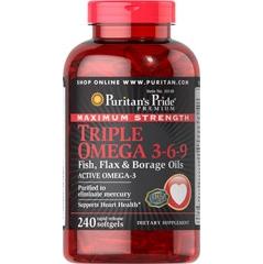 Maximum Strength Triple Omega 3-6-9