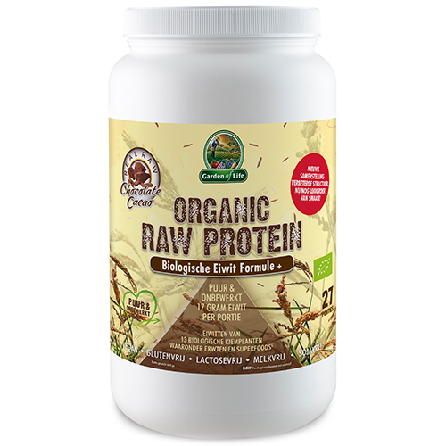 Organic Raw Protein Chocolate