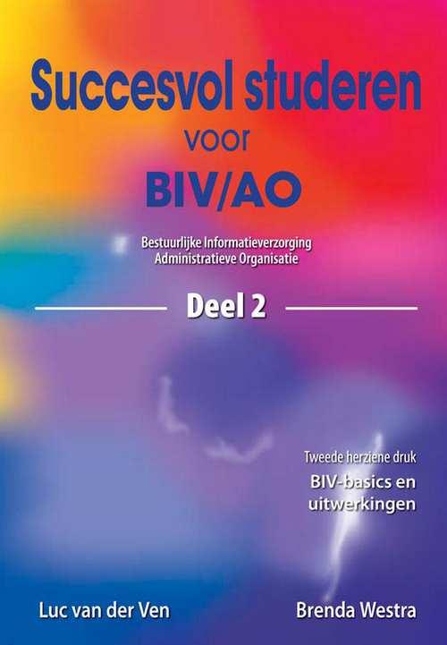 Succesvol studeren voor BIV/AO