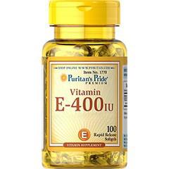 Vitamin E 400 IU – 100 softgels