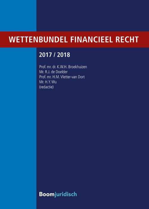Wettenbundel financieel recht