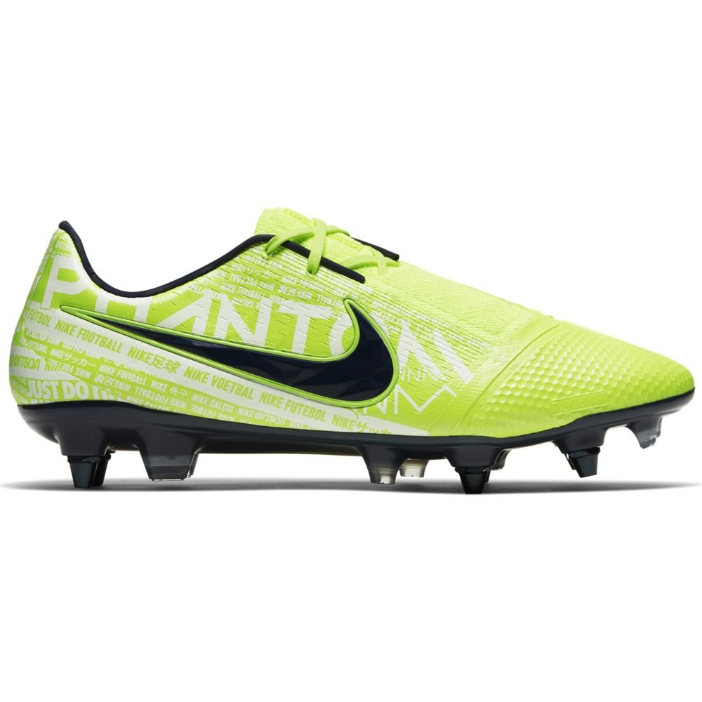 Nike PHANTOM VENOM ELITE SG PRO Voetbalschoenen Anti-Clog Volt Wit