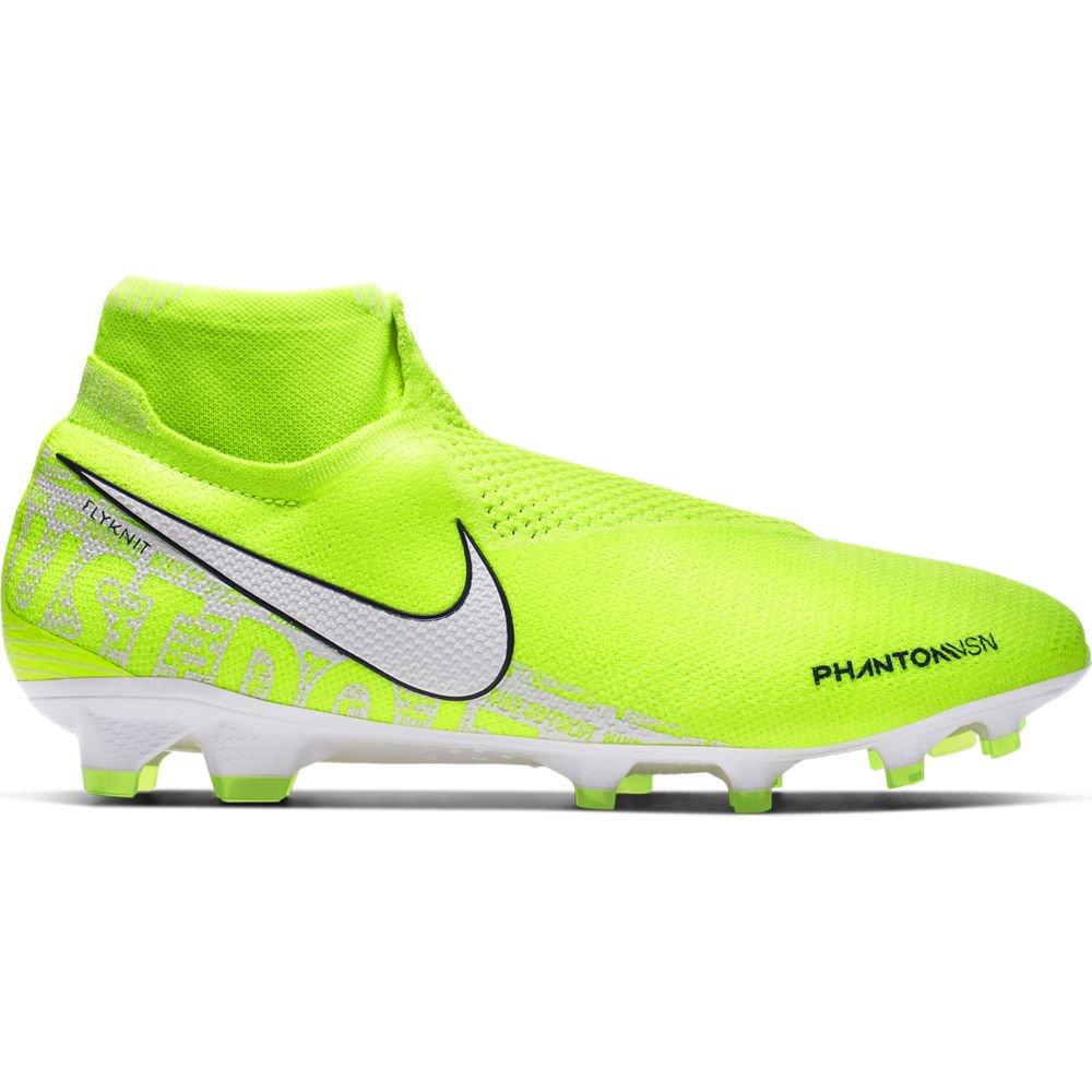 Nike PHANTOM VSN ELITE DF FG Voetbalschoenen Volt Wit