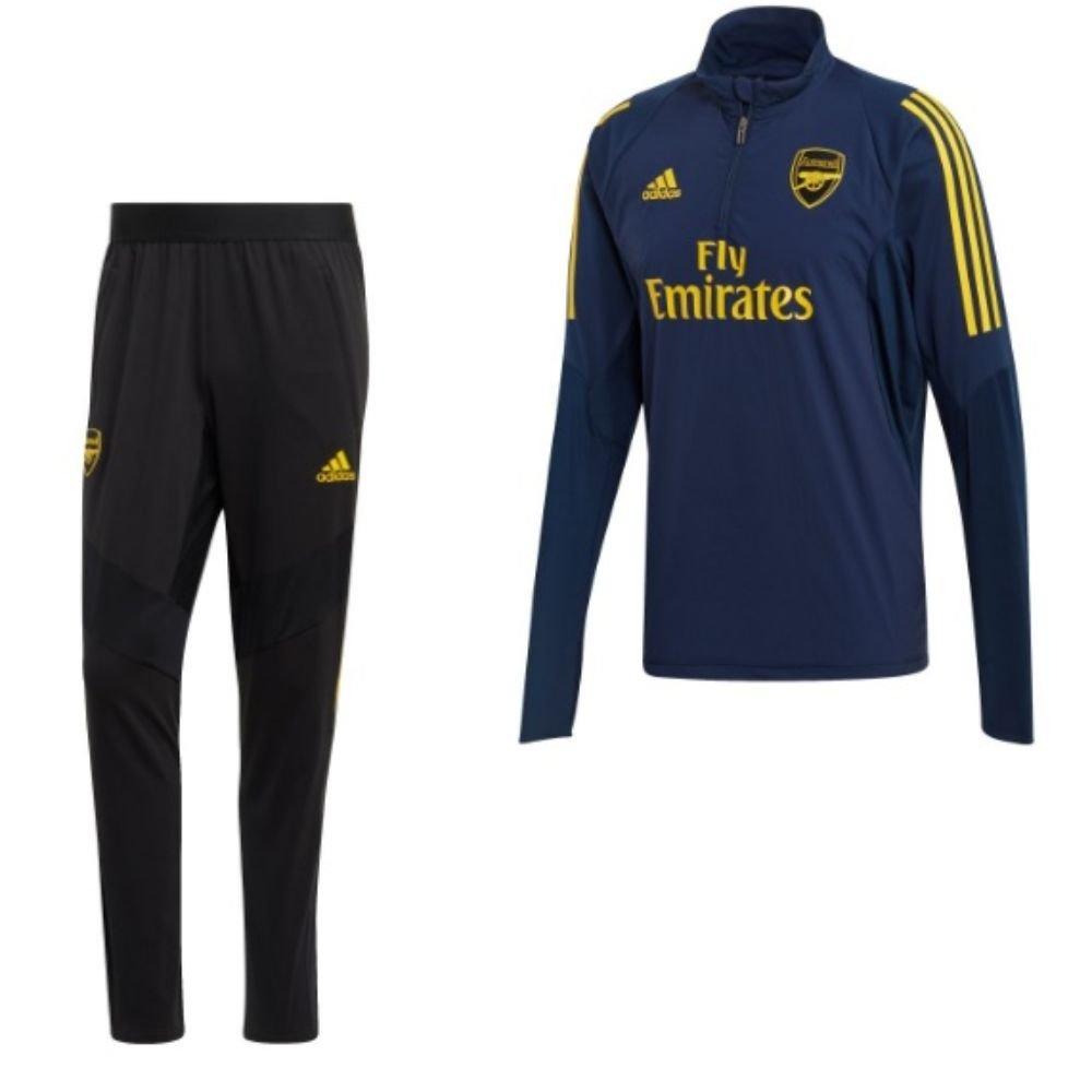 adidas Arsenal Top Trainingspak Europees Blauw Geel