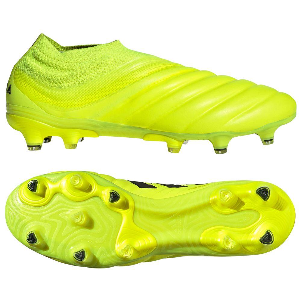 adidas COPA 19+ FG Voetbalschoenen Geel Zwart