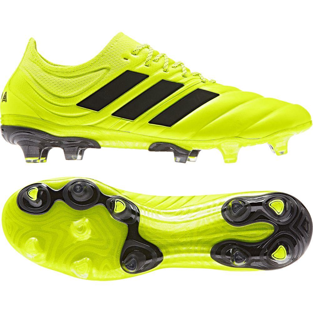 adidas COPA 19.1 FG Voetbalschoenen Geel Zwart