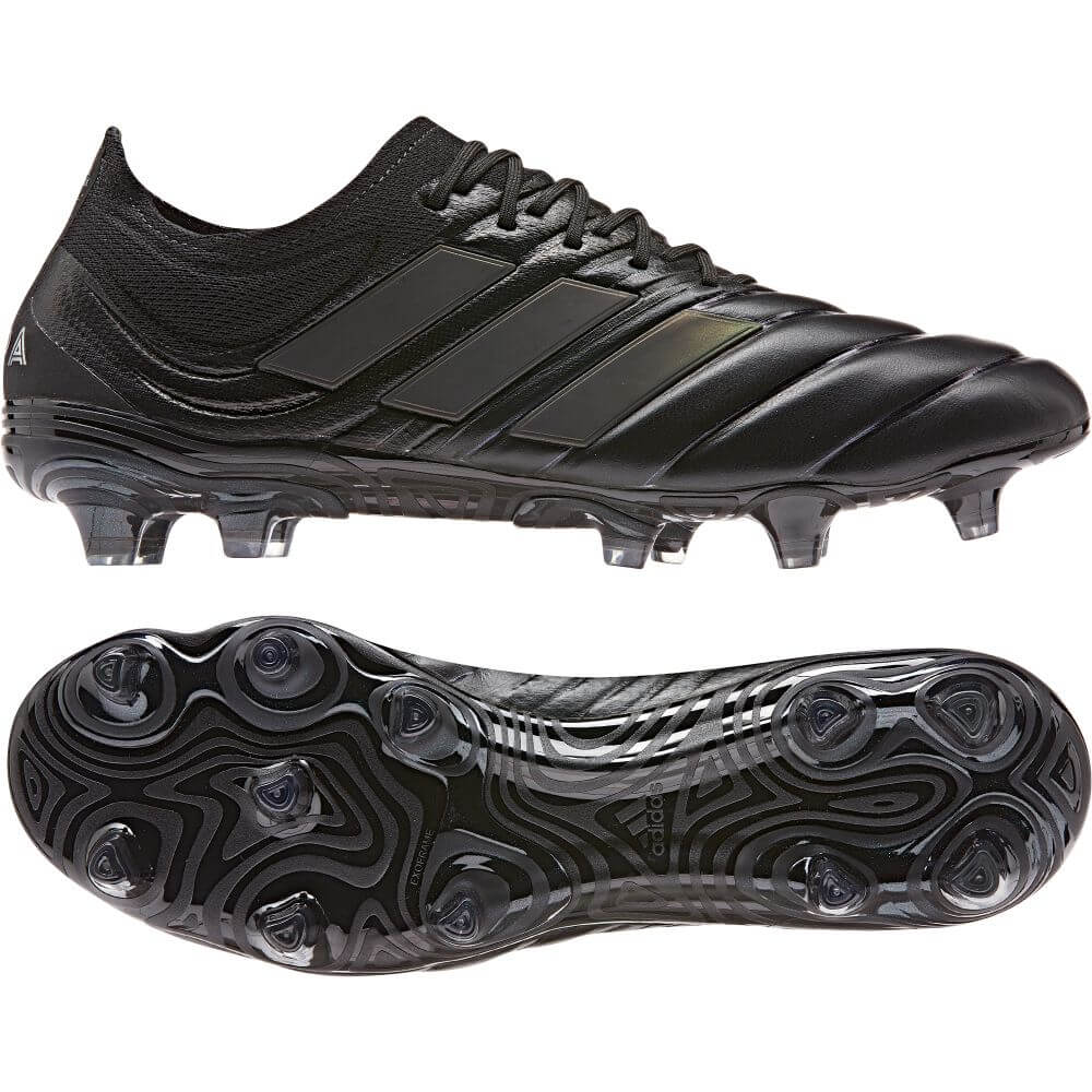 adidas COPA 19.1 FG Voetbalschoenen Zwart Zilver