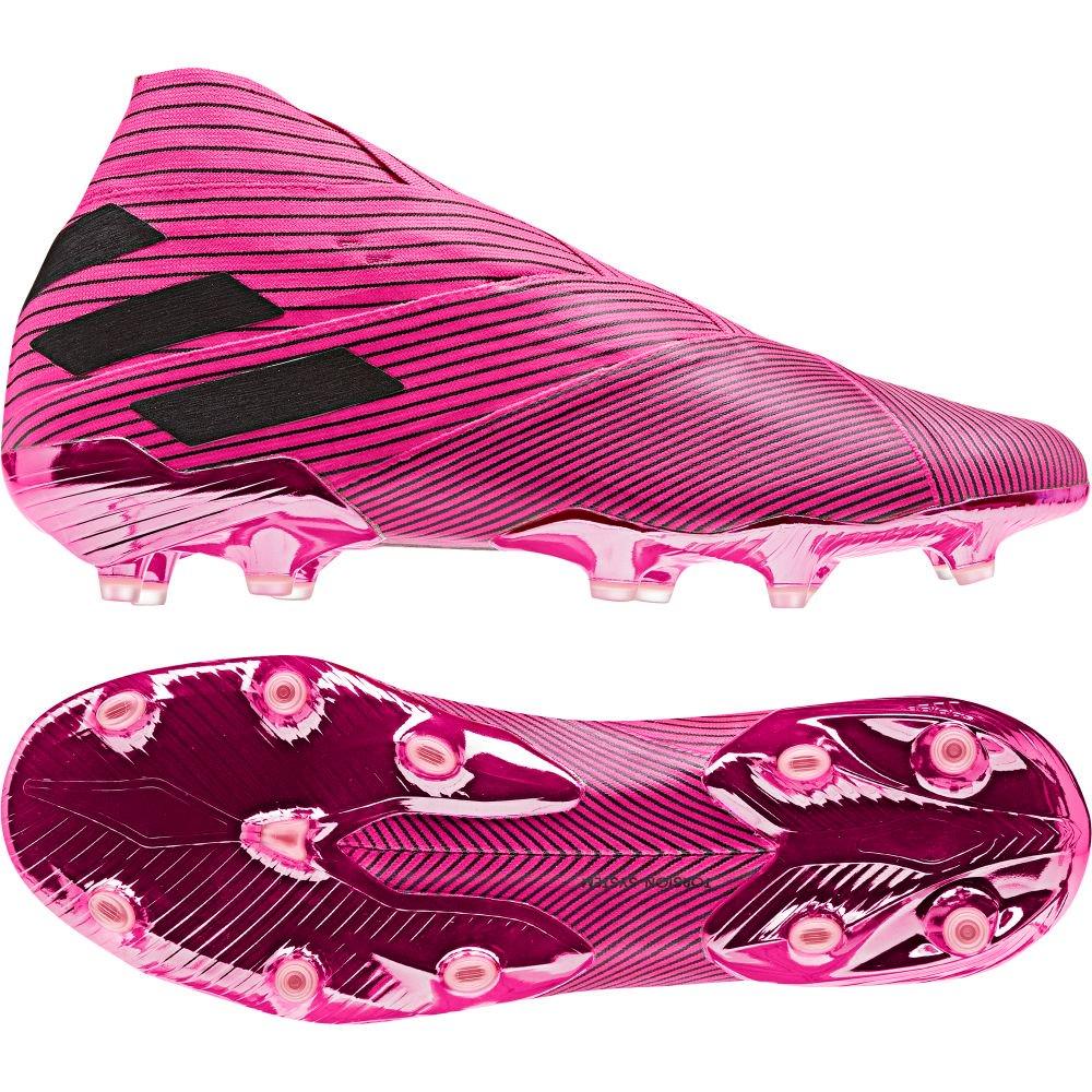 adidas NEMEZIZ 19+ FG Voetbalschoenen Felroze Zwart