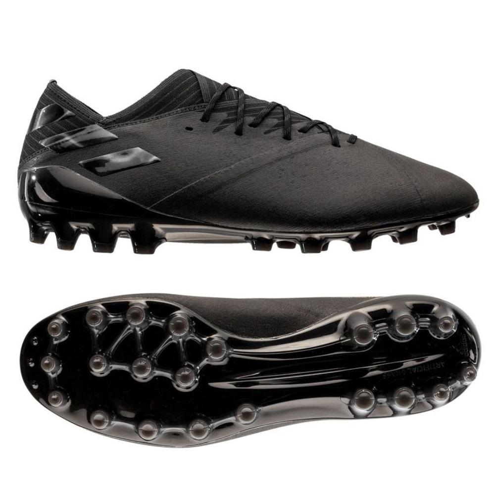 adidas NEMEZIZ 19.1 AG Voetbalschoenen Zwart Zwart