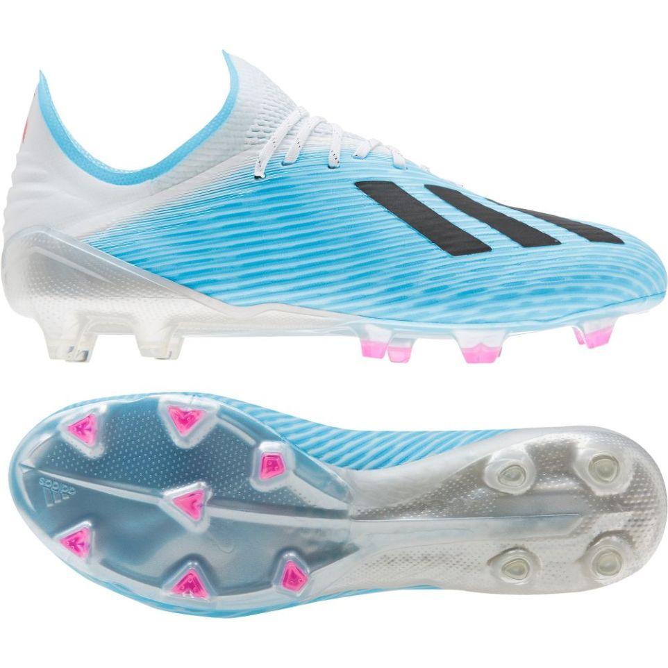 adidas X 19.1 FG Voetbalschoenen Blauw Wit Zwart